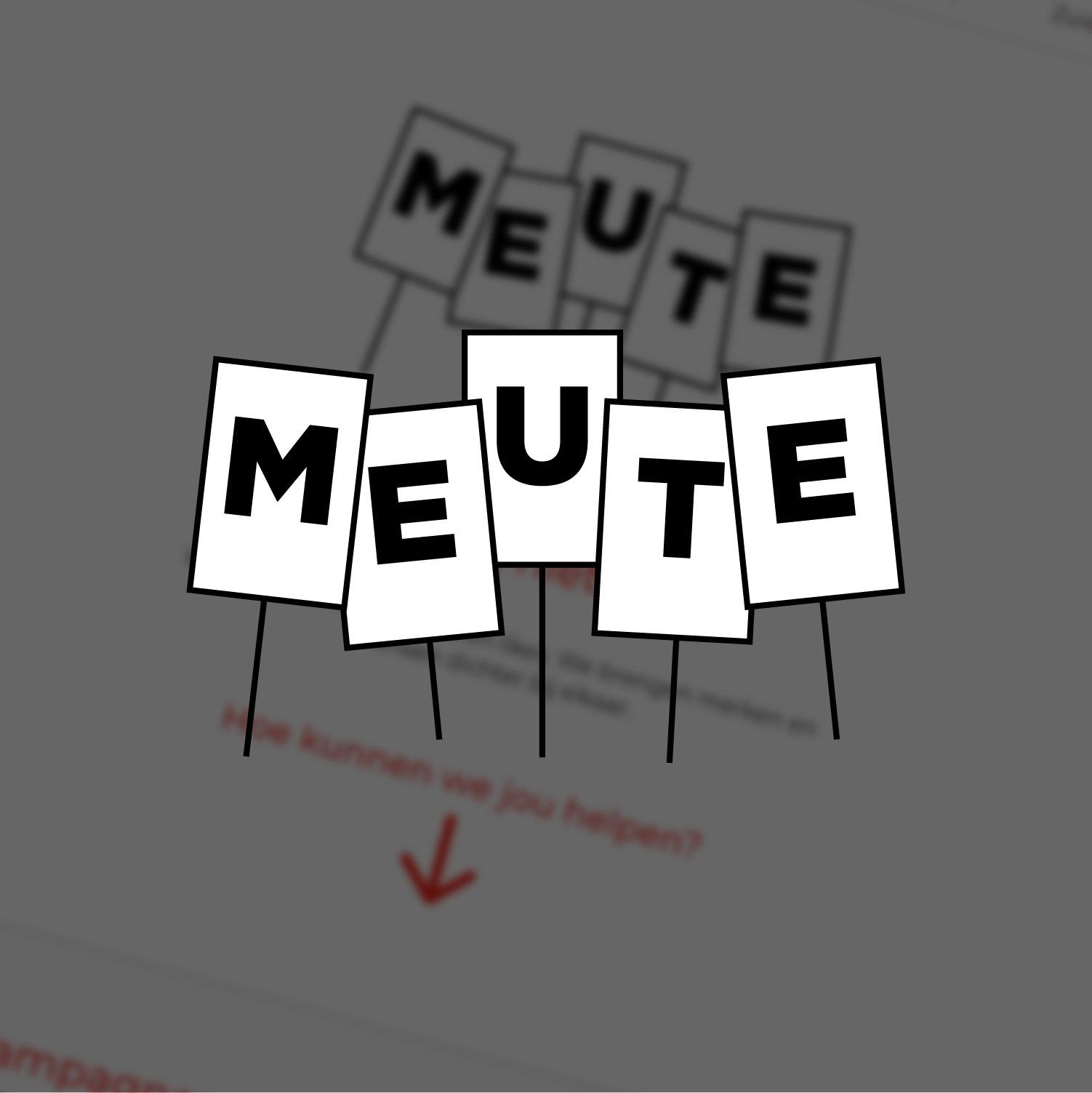 Meute | Website voor Campagnebureau