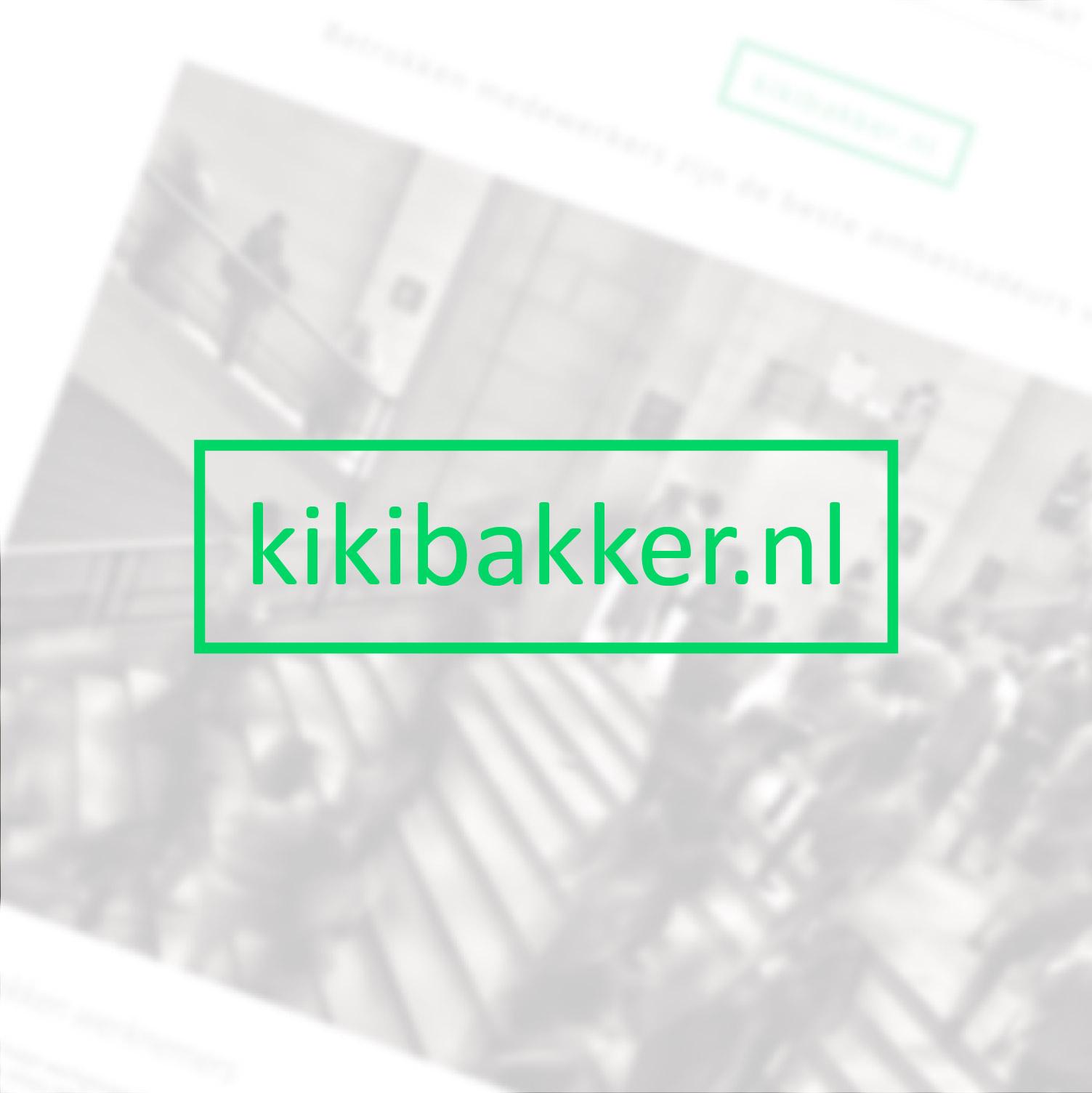 Kiki Bakker | Website voor Employee Engager
