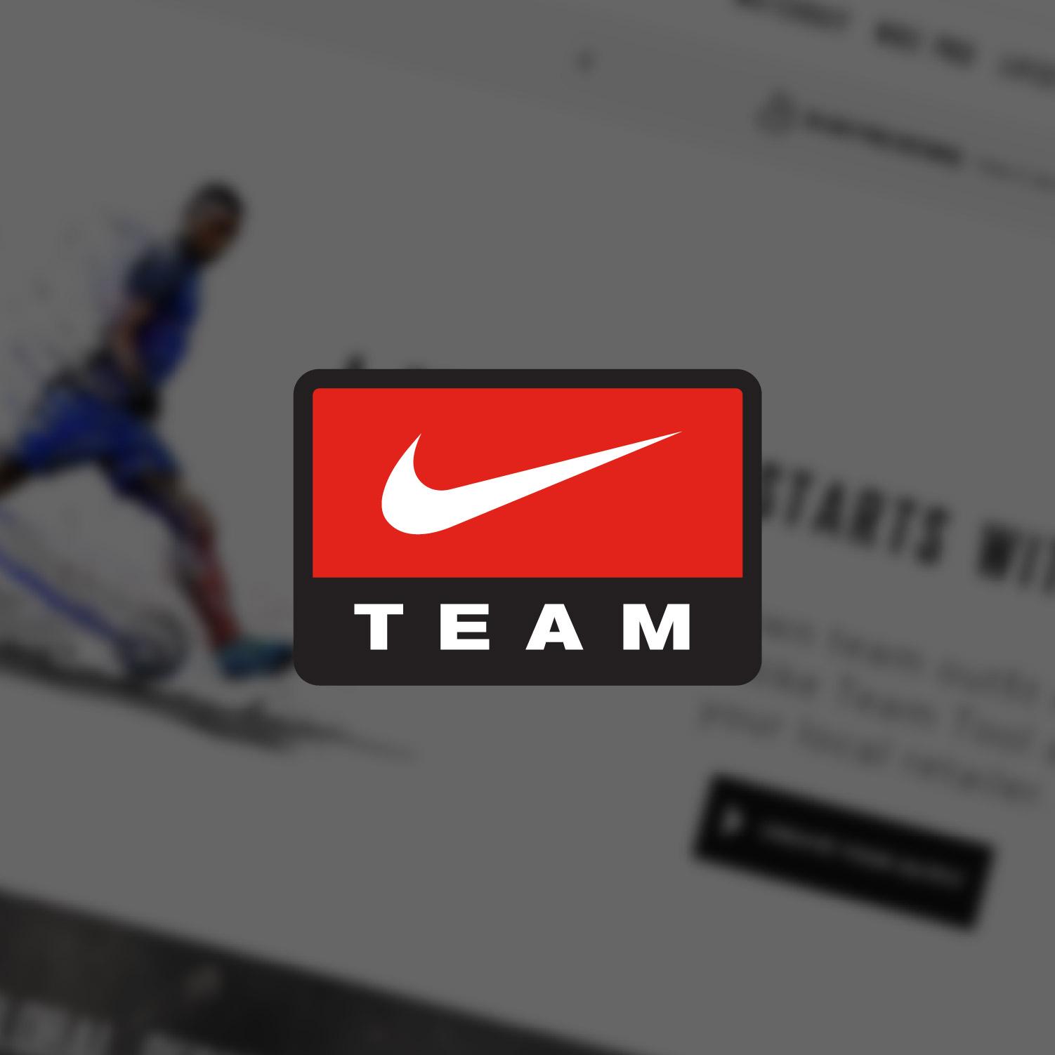 Nike Team – Kit Samensteller