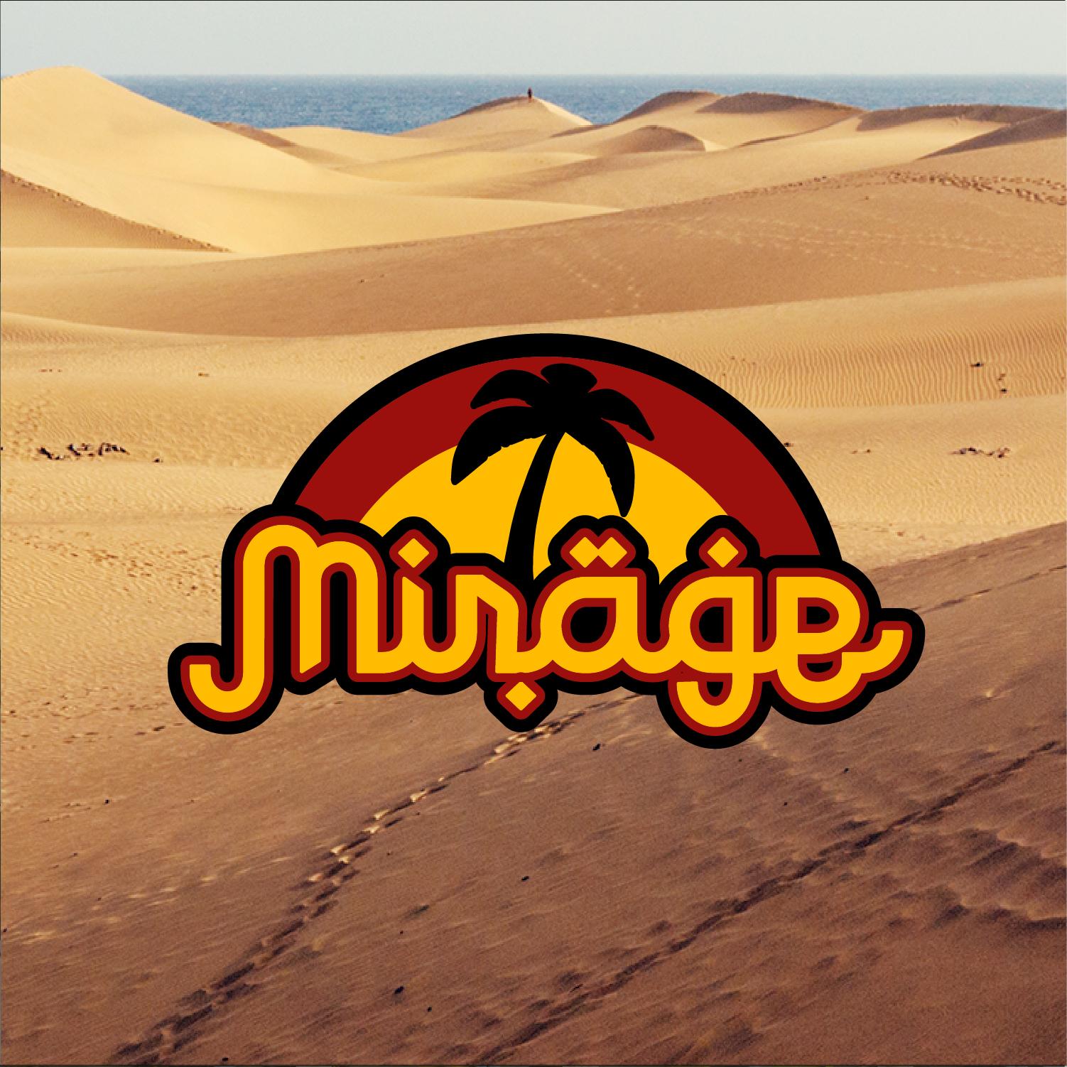 Mirage | Fictief logo ontwerp