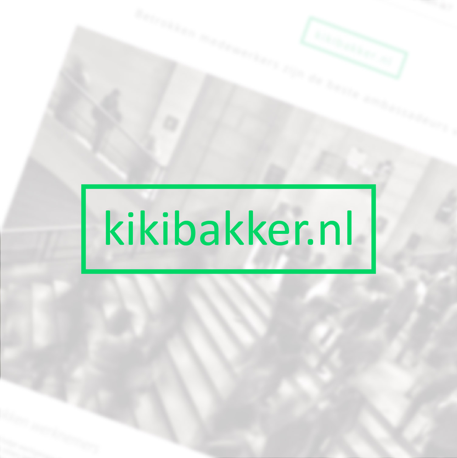 Kiki Bakker | Website voor Employee Engager